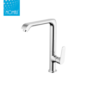 2018 new design single handle brass hot and cold kitchen faucet