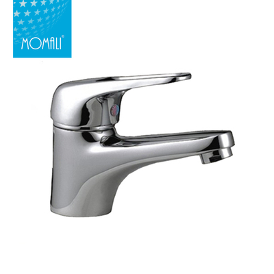 Fashion Single Lever Polished Basin Faucet