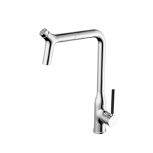 China Mixer Single Handle Hot Cold Water Kitchen Faucet
