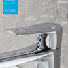 Wenzhou sanitary ware single handle brass saving water basin faucet