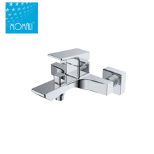 Commercial wall mounted bath shower mixer faucet